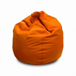 Puff Naranja Polipiel +/- Diam 80 X H 80 Cm
