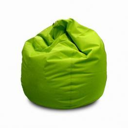 Puff Verde Polipiel +/- Diam 80 X H 80 Cm