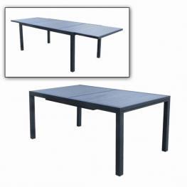 Mesa Alumino/plastico 270/180/100X75.5 Gris