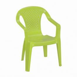 Silla Plastico Infantil Camelia -Verde