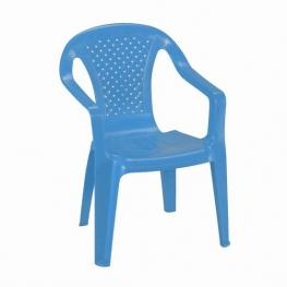 Silla Plastico Infantil Camelia Azul