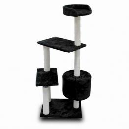 Arbol Para Gato Negro 53 X 40 X H 95 Cm