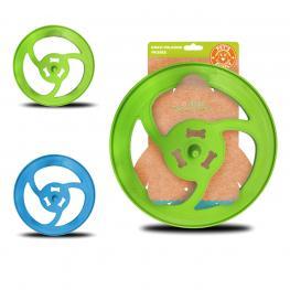 Frisbee Azul / Verde Diametro 26 Cm