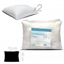 Pack 2 Almohadas Viscoelasticas 50 X 70 Cm