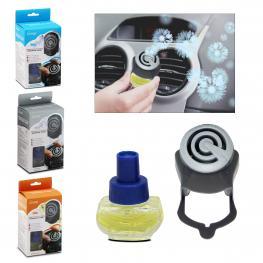 Ambientador Coche 3 Perfumes 4 X 8 Cm - 9 Ml
