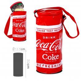 Bolsa Nevera Coca Cola Forma Lata 13.5 X 32 Cm