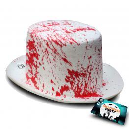 Sombrero Ensangrentado Halloween 31 X 25 X 12 Cm
