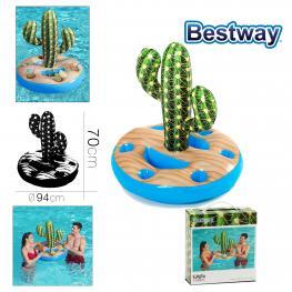 Portavasos Cactus Hinchable  94 X 70 Cm
