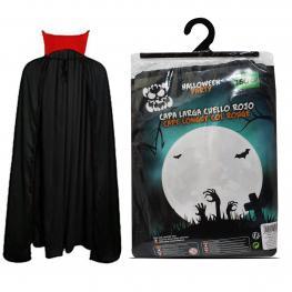 Capa Larga Cuello Rojo Halloween 2 Metros