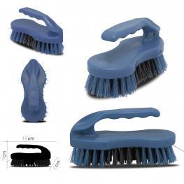 Cepillo de Mano Azul Con Mango 15 X 6 X H 7 Cm