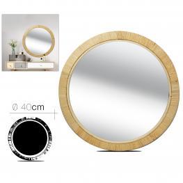 Espejo de Rattan 40 Cm