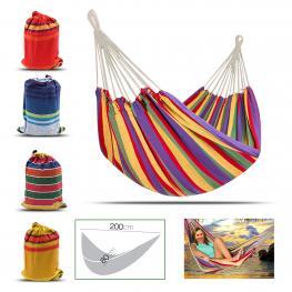 Hamaca Con Bolsa Surtido Color  200 X 80 Cm