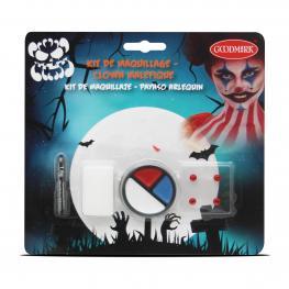Kit Maquillaje Halloween - Arlequin