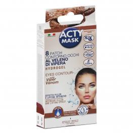 Parche Acty Mask Contorno Ojos Hidrogel 8 Unidades