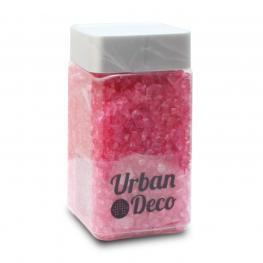 Piedra Cristal Decorativa Rosa 2-4 Mm 400 Ml