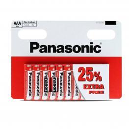 Pilas Lr03 Aaa Panasonic Red X10