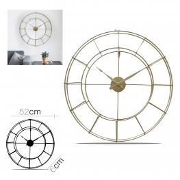 Reloj Metal Dorado Diam 57 X 6 Cm