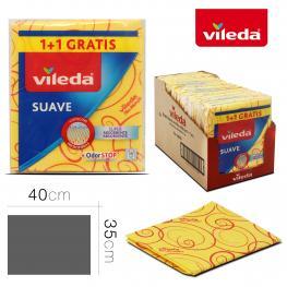 Bayeta Vileda Suave 1 + 1 Gratis 35 X 40 Cm