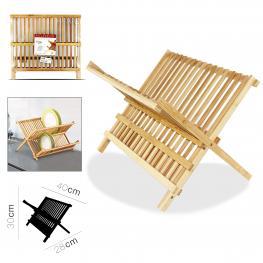 Escurridor Bambu 40 X 28 X 30 Cm
