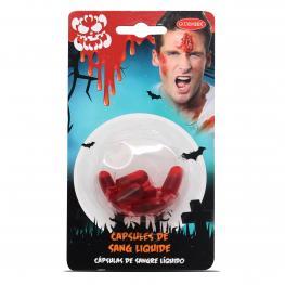 Capsulas de Sangre Liquidas 7 Unds. de  1.1 Ml