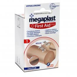 Venda Elastica C/ Broche Megaplast 1 Ud 5 M X 8 Cm
