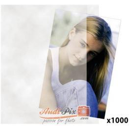 1X1000 Daiber Hojas Con Papel Pergamino 10X15