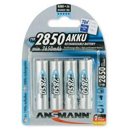 1X4 Ansmann Nimh Pilas 2850 Mignon Aa 2650 Mah
