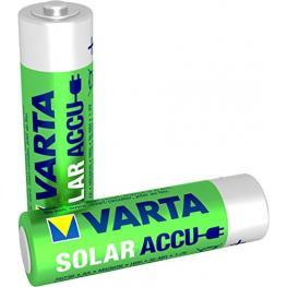 1X2 Varta Solar Accu Aa Nimh 800 Mah Mignon