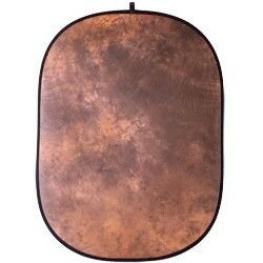 Walimex Reflector Plegable Marrón Batik, 146X200Cm