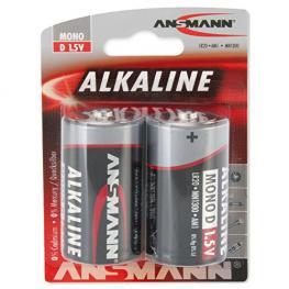 1X2 Ansmann Pilas Alcalinas D Lr 20 Red-Line