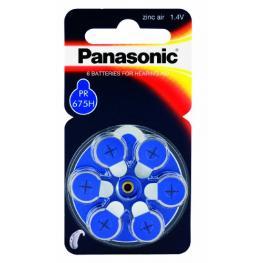 Panasonic Pr 675 Pilas Para Audífonos Zinc Air 6 Unds Rad