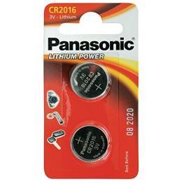 1X2 Panasonic Cr 2016 Lithium Power