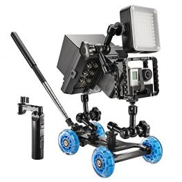 Walimex Pro Dolly Action Set III Para Gopro
