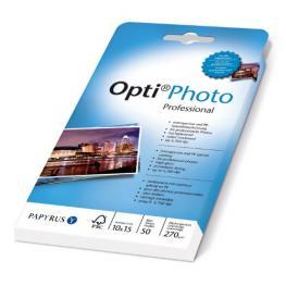 Opti Papel Foto Profesional 10X15Cm, 270G, 50 Hojas