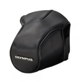 Olympus Cs-36Fbc Funda de Cuero Negro Para Om-D E-M5