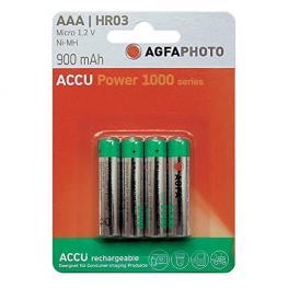 1X4 Agfaphoto Pilas   Nimh Micro Aaa 900 Mah
