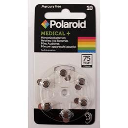 1X6 Polaroid Zinc Air 10 Pilas Para Audífonos