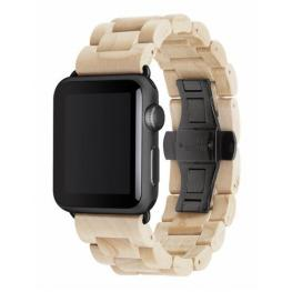 Woodcessories Ecostrap Apple Watch Band 42Mm, Maple Negro