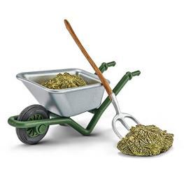 Schleich Farm Life Kit Limpieza de Establos En la Granja