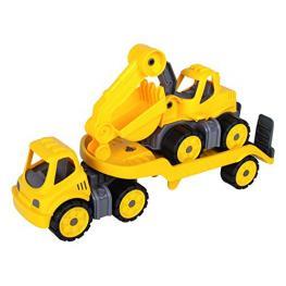Big Power Worker Mini Transporter + Excavadora