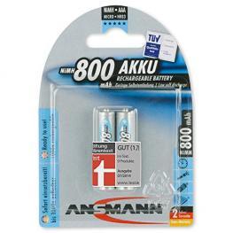 1X2 Ansmann Maxe Nimh Pilas Micro Aaa 800 Mah Alemán