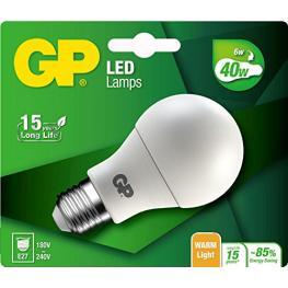 Gp Lighting Led Classic E27 6W (40W) 470Lm