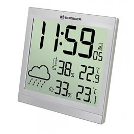 Bresser Temeotrend Jc Plata Lcd Reloj Meteorológico
