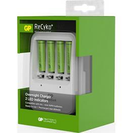 Gp Recyko+ Pb420 Cargador Incl. 4 X Aaa 850Mah 130420Gs85Aaahcc4