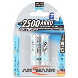 1X2 Ansmann Maxe Nimh Pila 2500 Mignon Aa 2400 Mah