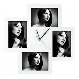 Zep Bergamo Blanco 4X13X18 Reloj Marco de Madera Fc002