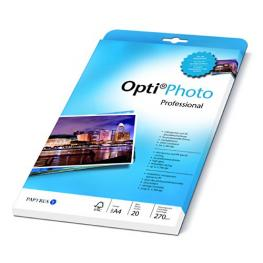 Opti Foto  Professional Paper A 4, 270 G, 20 Hojas
