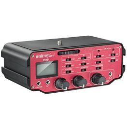 Walimex Pro Audioadapter 107 Xlr Adaptador Con Amplificador