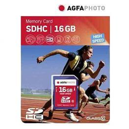 Agfaphoto Sdhc Tarjeta 16Gb High Speed Class 10 Uhs I