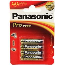 1X4 Panasonic Pro Power Lr 03 Micro Aaa